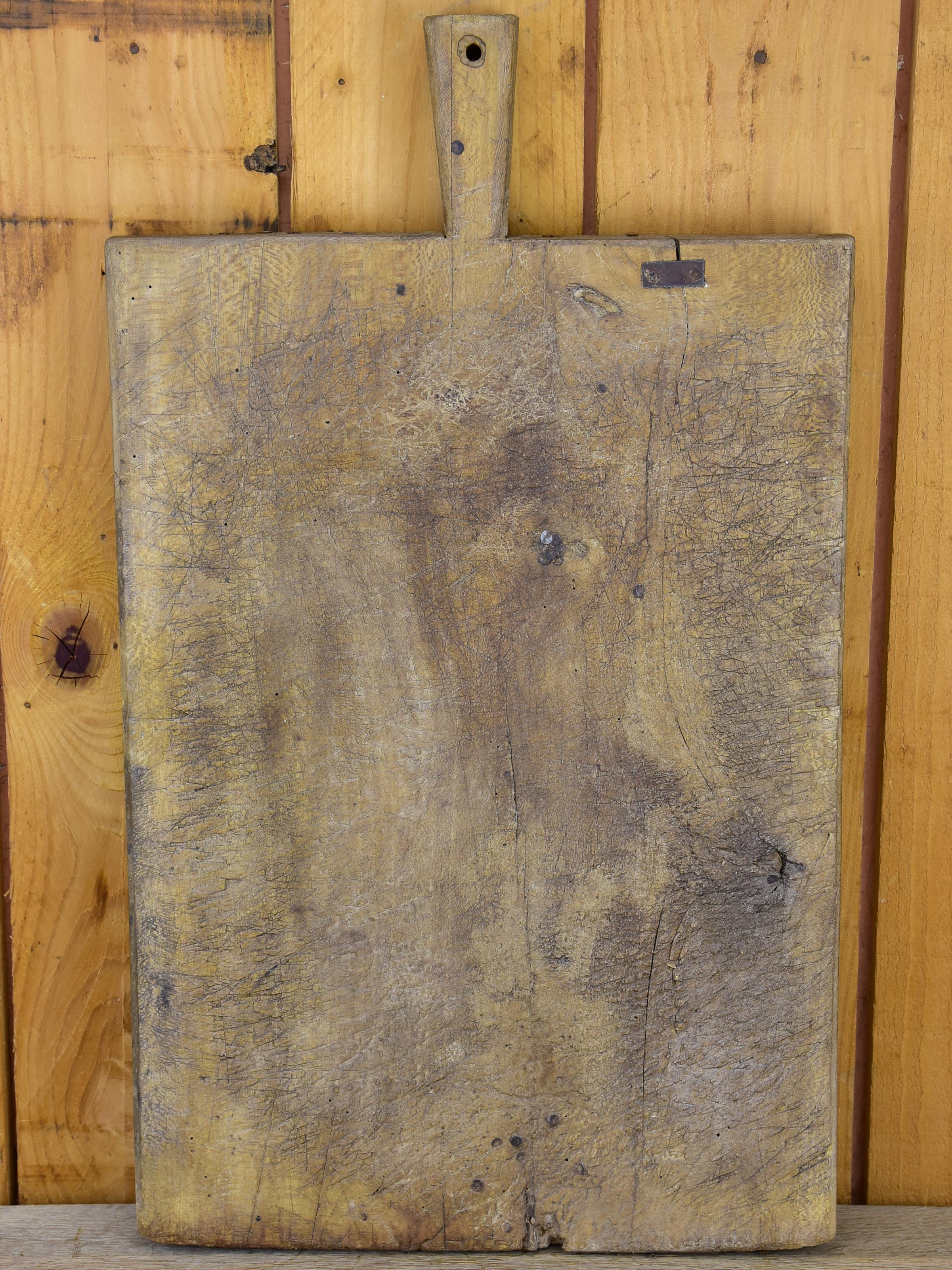 Large antique rustic French cutting board
