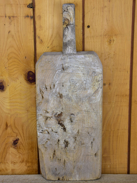 Very rustic antique French cutting board