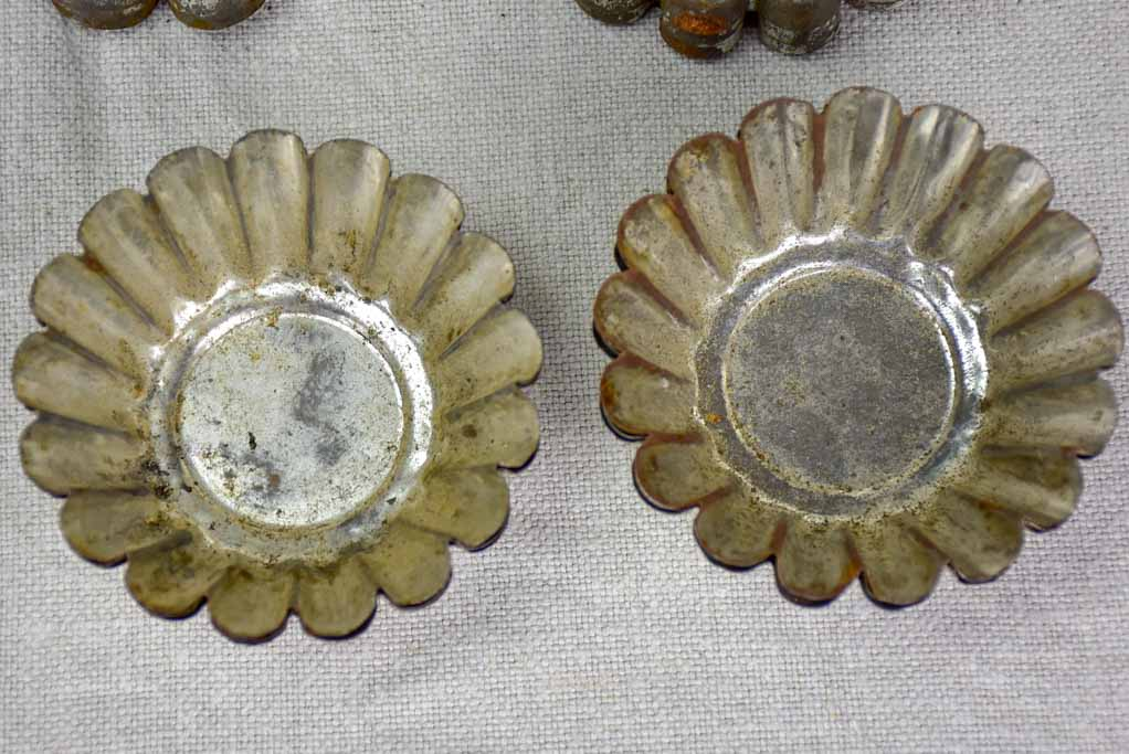 Collection of antique French cake molds