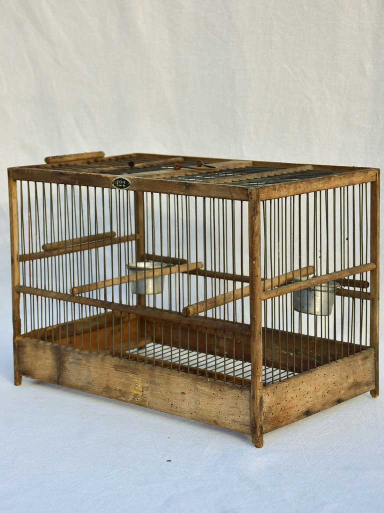 Early 20th century Italian birdcage