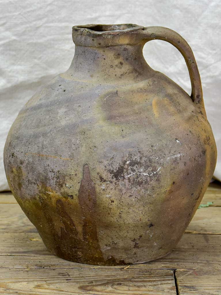 19th Century French water pitcher 14¼""