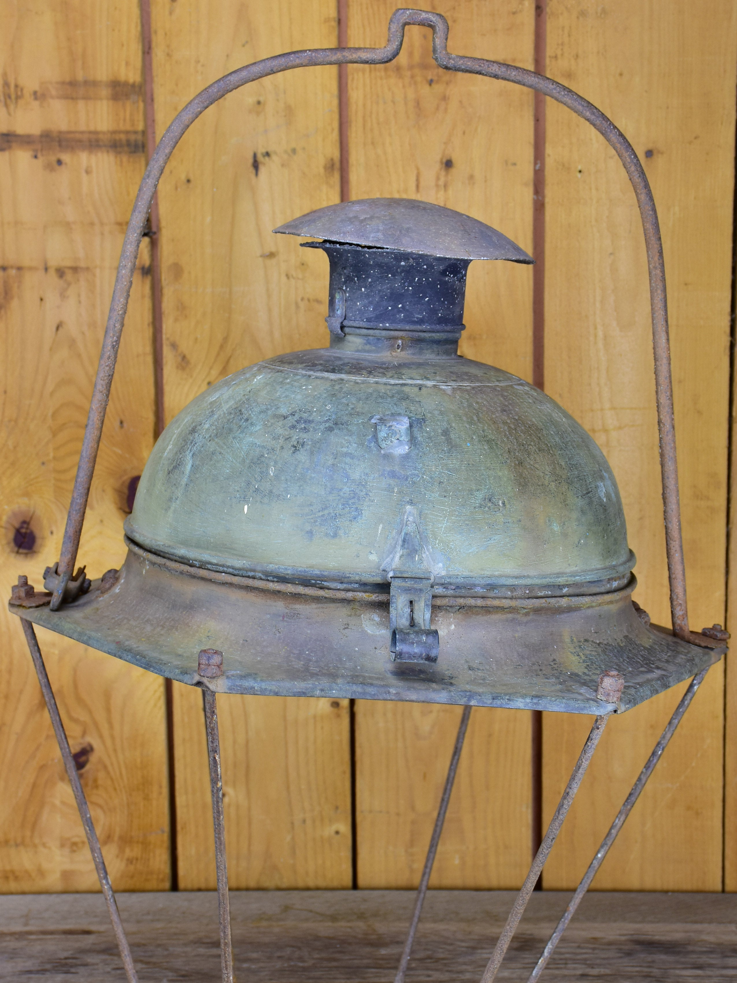 Very large 19th Century French street lantern