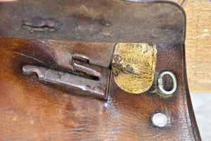 Rare antique French Hermes saddle from the military