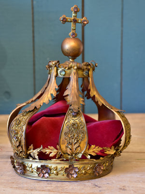 Antique French Saint's crown