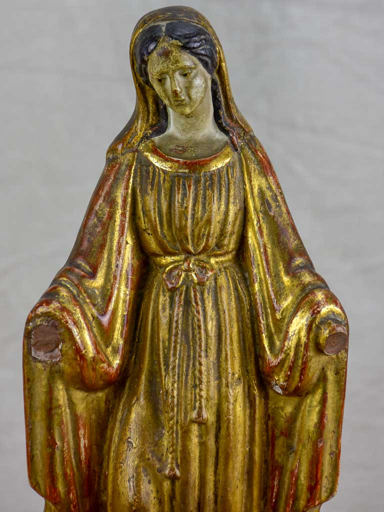 19th Century French statue of the Virgin Mary