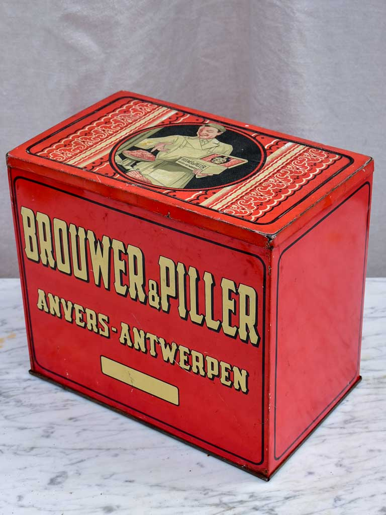 Early 20th Century Dutch tin