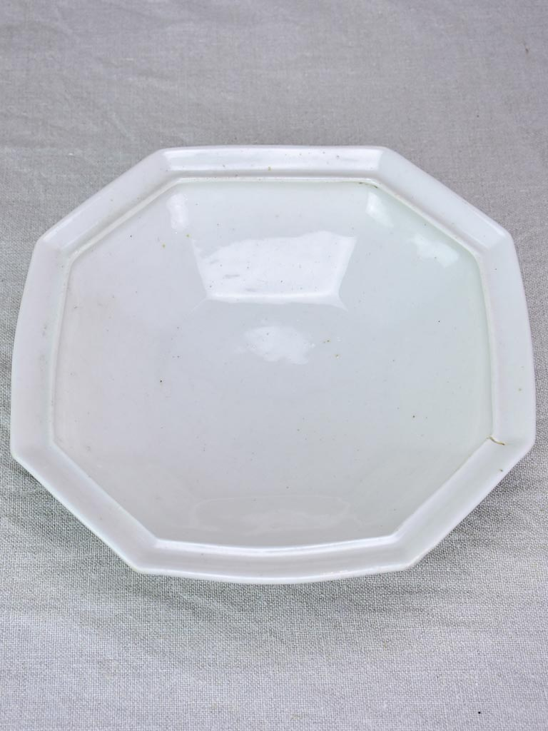 Early 20th Century French bowl / tureen base 11""