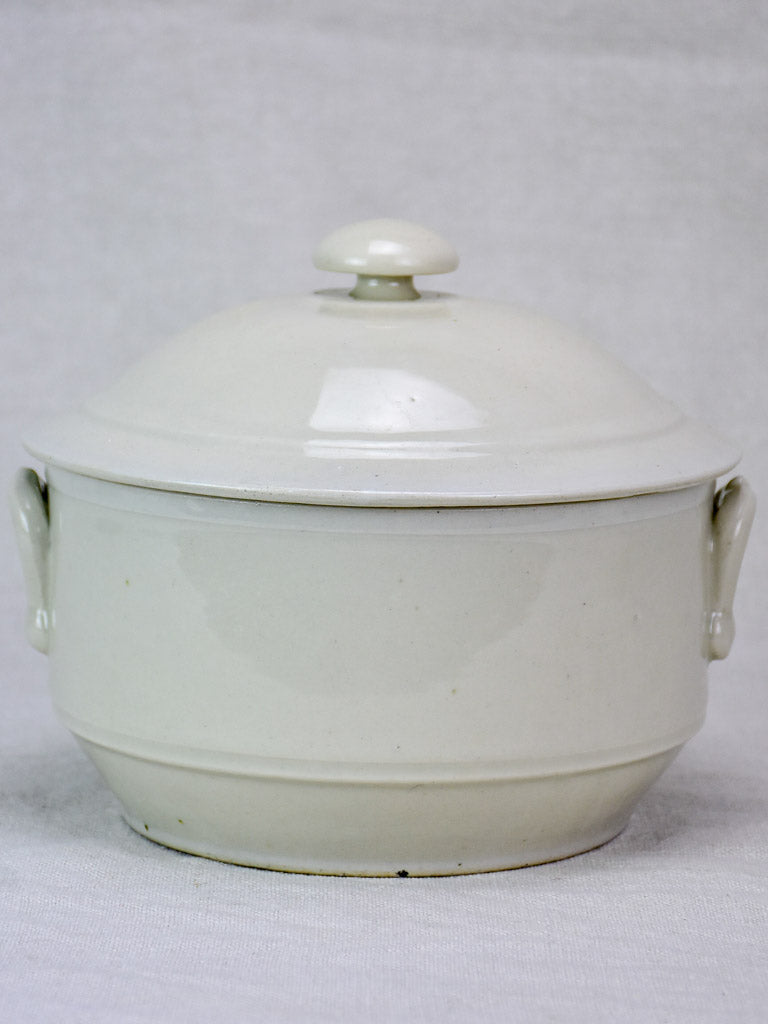 Antique French soup tureen 8¼""