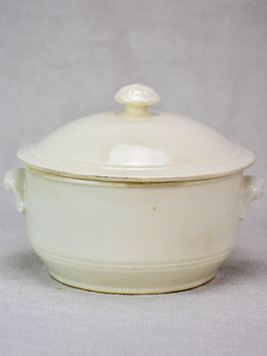 Antique French soup tureen - small 6¼""
