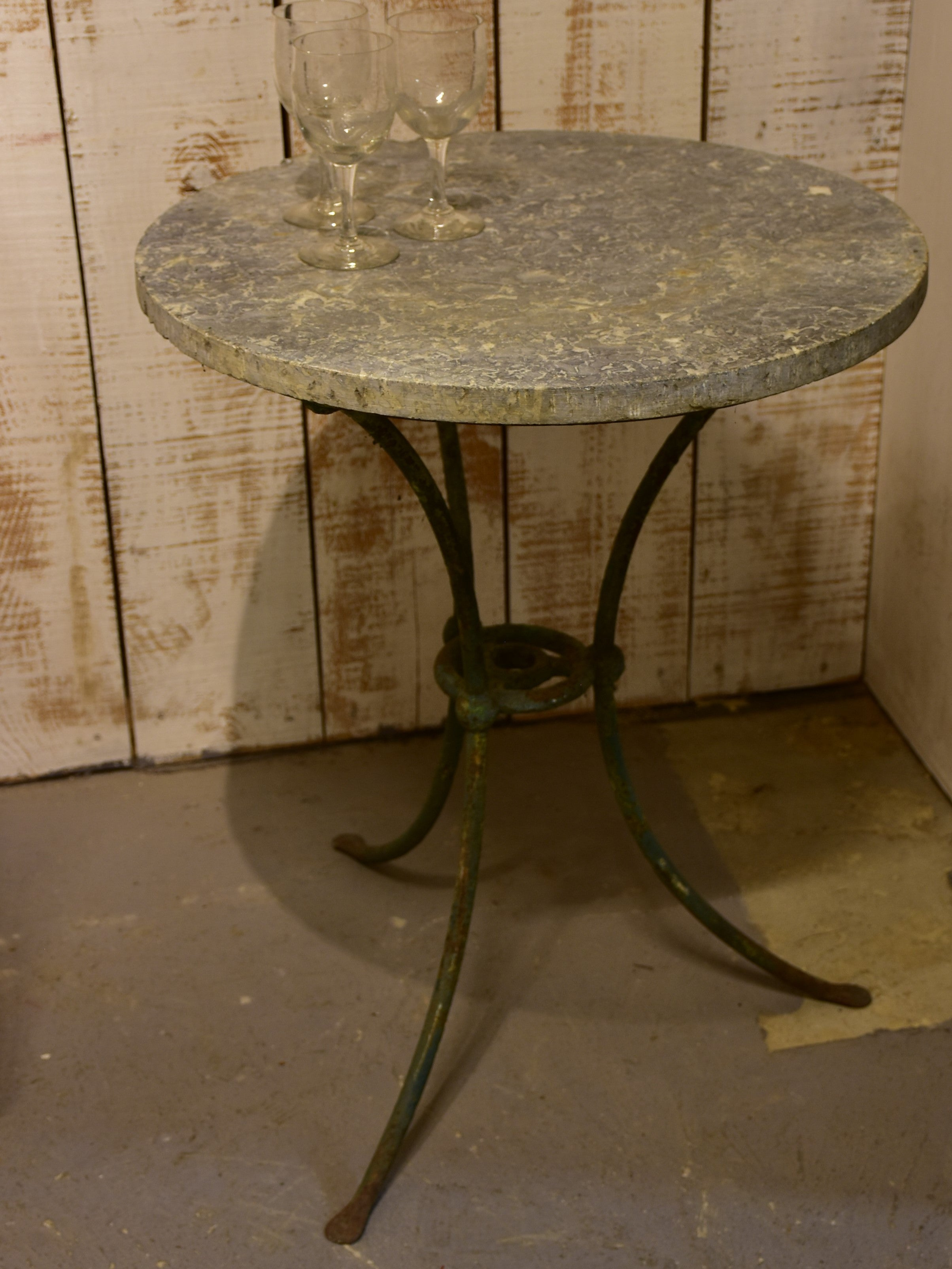 Early 19th century marble top French table