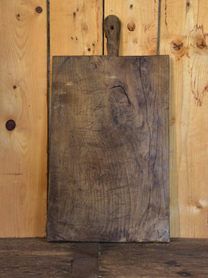 Antique French cutting board with some repairs