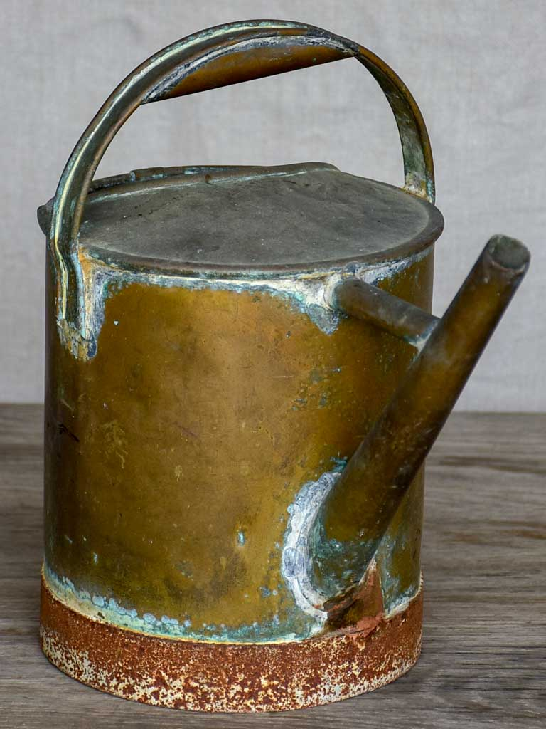 Petite antique French watering can