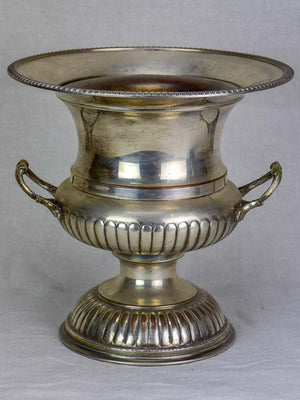 Antique English silver plate champagne bucket