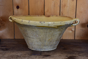19th century French confit bowl