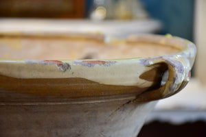 Antique French 'tian' preserving bowl