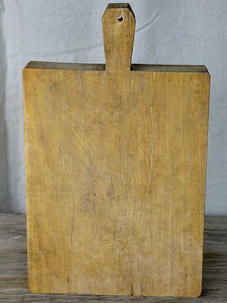 Very thick antique French cutting board