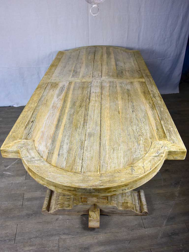 "Antique French monastery dining table 98"" x 39½"""