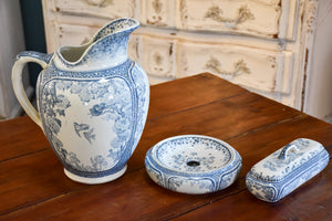 Lunéville Faience bathroom ensemble