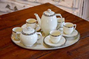 Epiag Art Deco coffee service with platter
