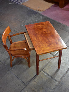 Baumann child's chair and table