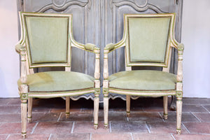 Pair of Louis XVI / Directoire armchairs