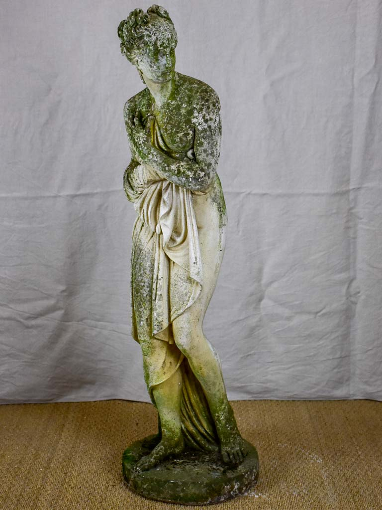 Large French garden statue of Venus - cast stone