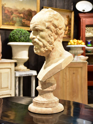 Late 18th century bust of Galen of Pergamon