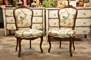 Pair of antique Louis XV chairs