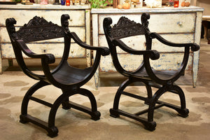 French Dagobert chair – two available