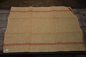 Vintage French linen tea towel – casino