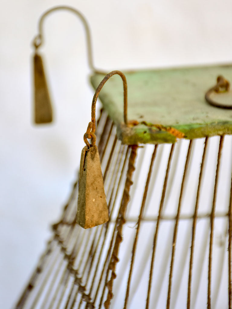 RESERVED MA Small antique French birdcage