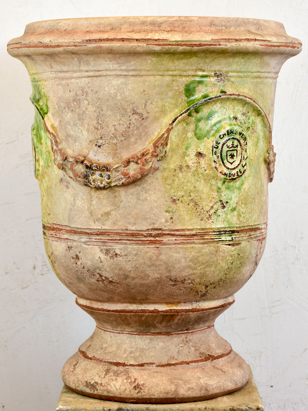 French Anduze garden urn - antica
