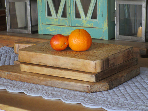 Chunky French cutting board rustic farmhouse
