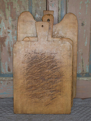 Chunky French chopping bread board rustic farmhouse