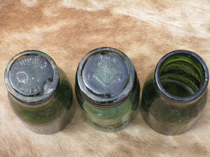 Lids of circa 19th century French truffle jars