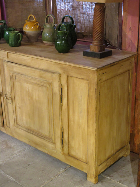 Large painted oak enfilade