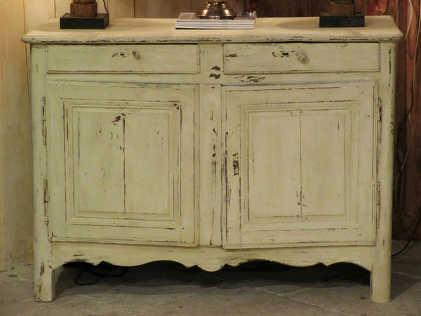Painted oak buffet