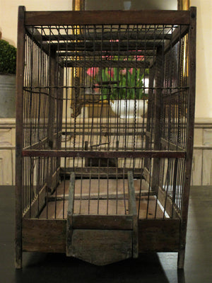 Circa 1940s French birdcage