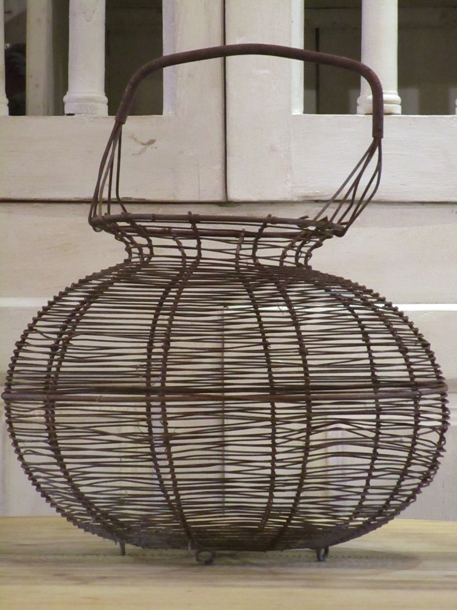 large french wire salad basket