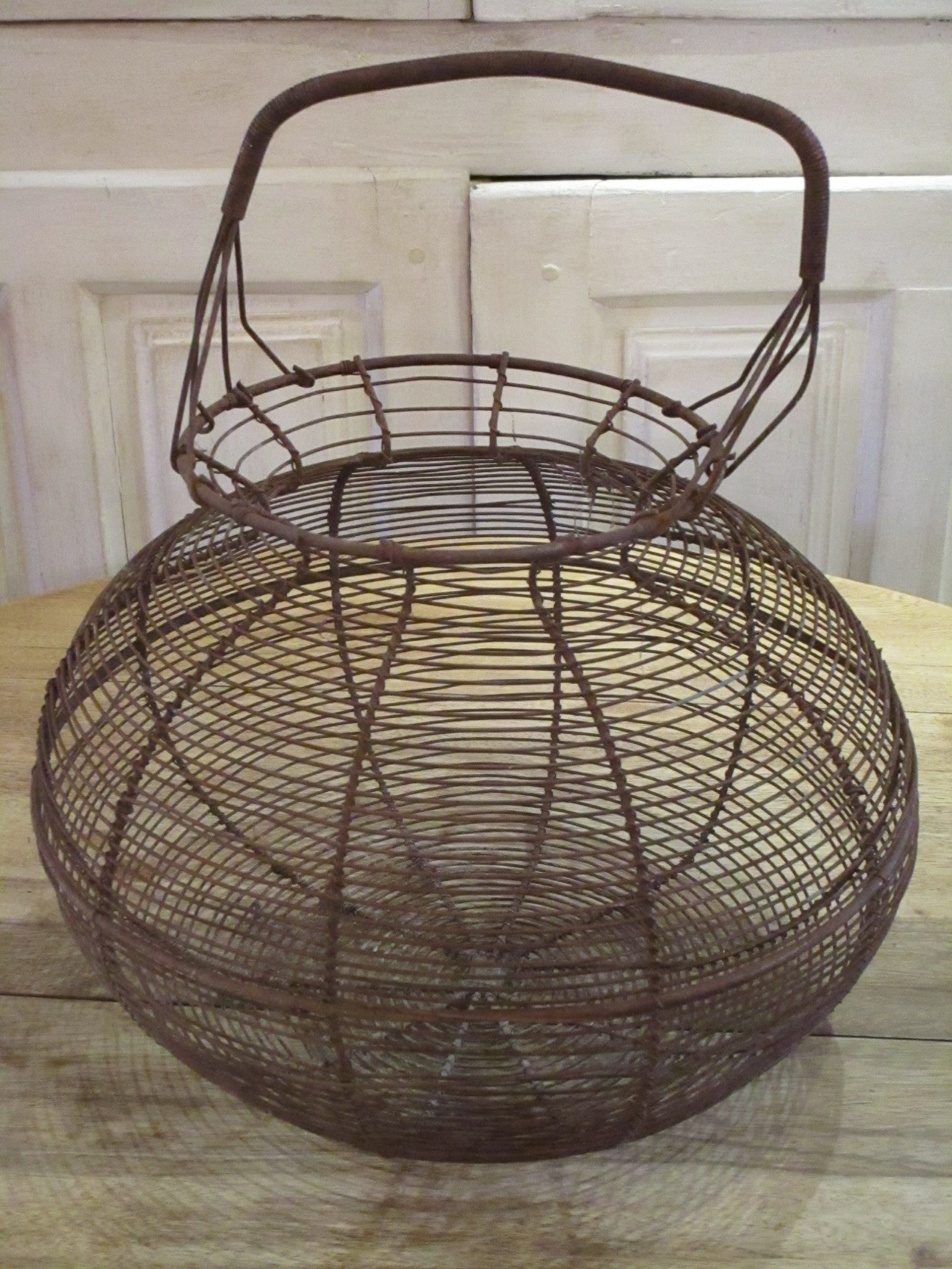 rustic wire salad basket