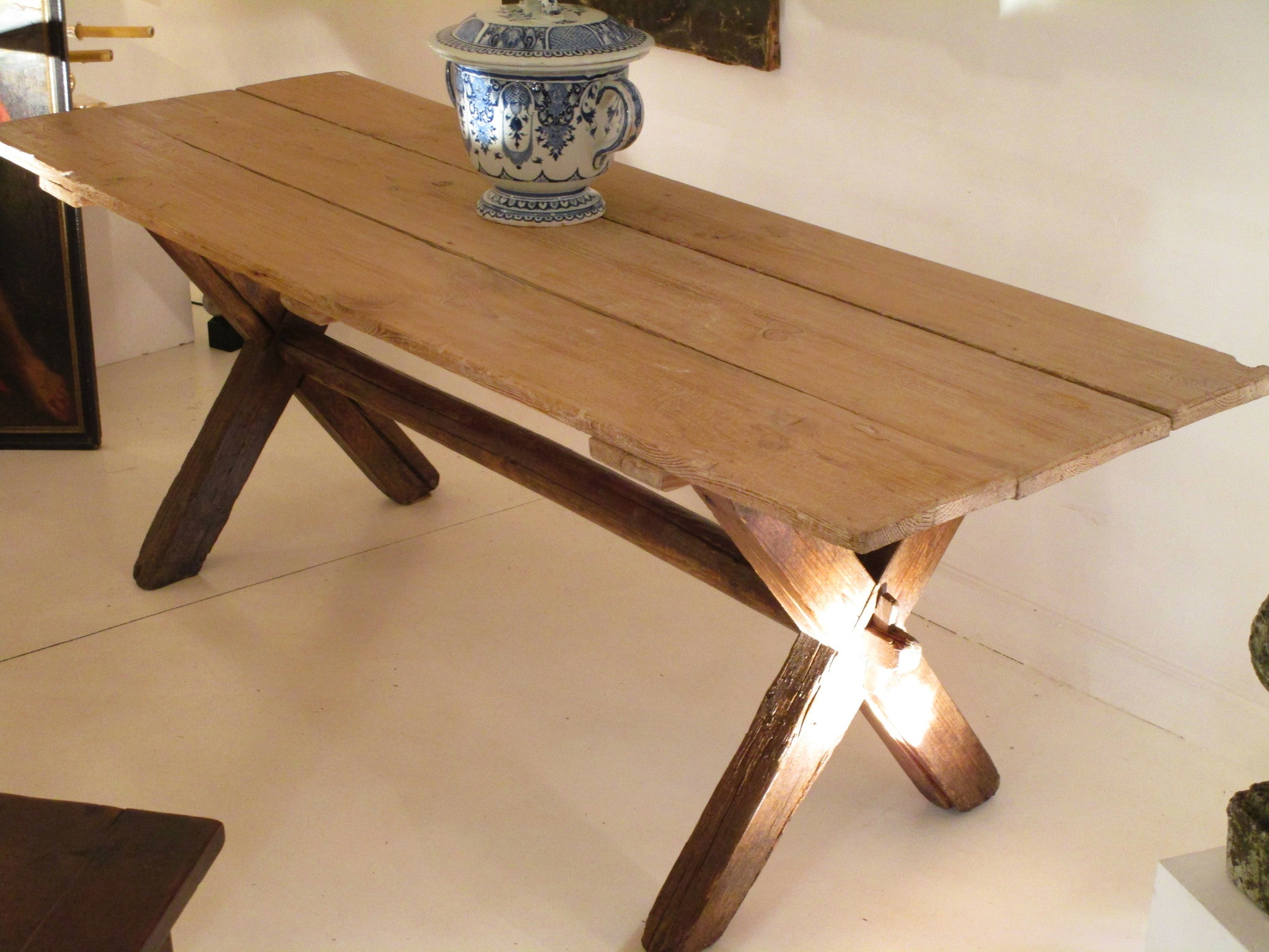 rustic french country dining table