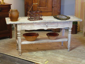 Antique french painted console