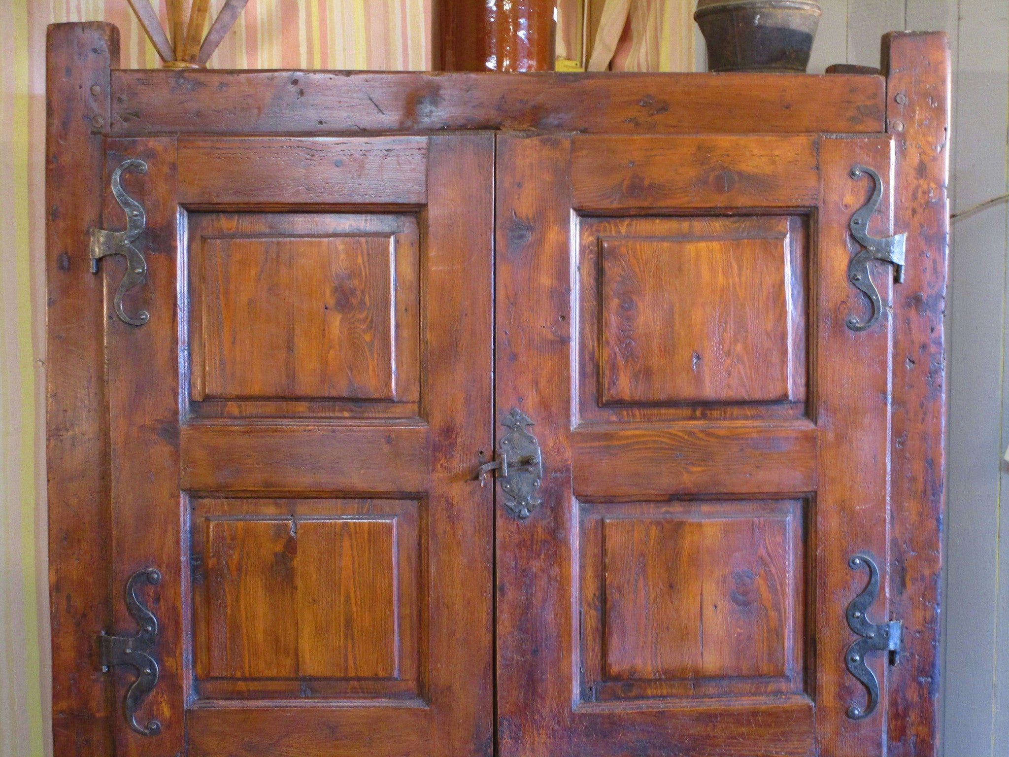 18th century chestnut cupboard