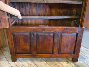 French antique chestnut cupboard