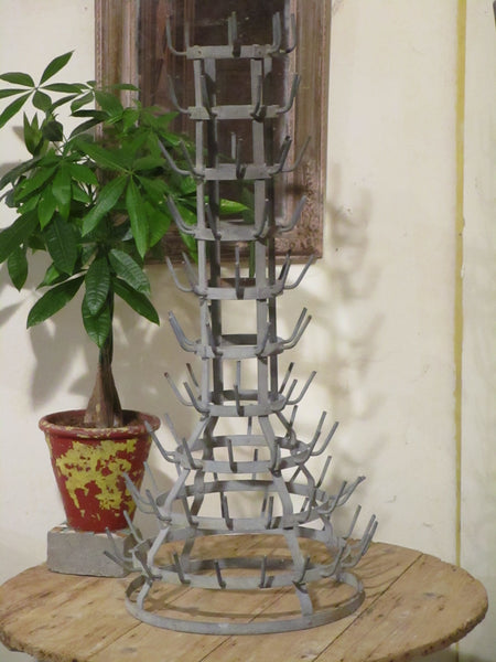 French bottle tree galvanized porcupine