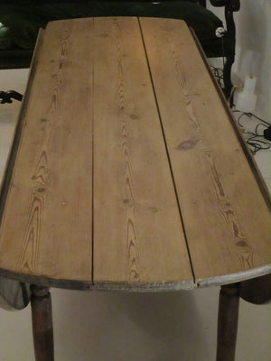 Ten seater oval dining table