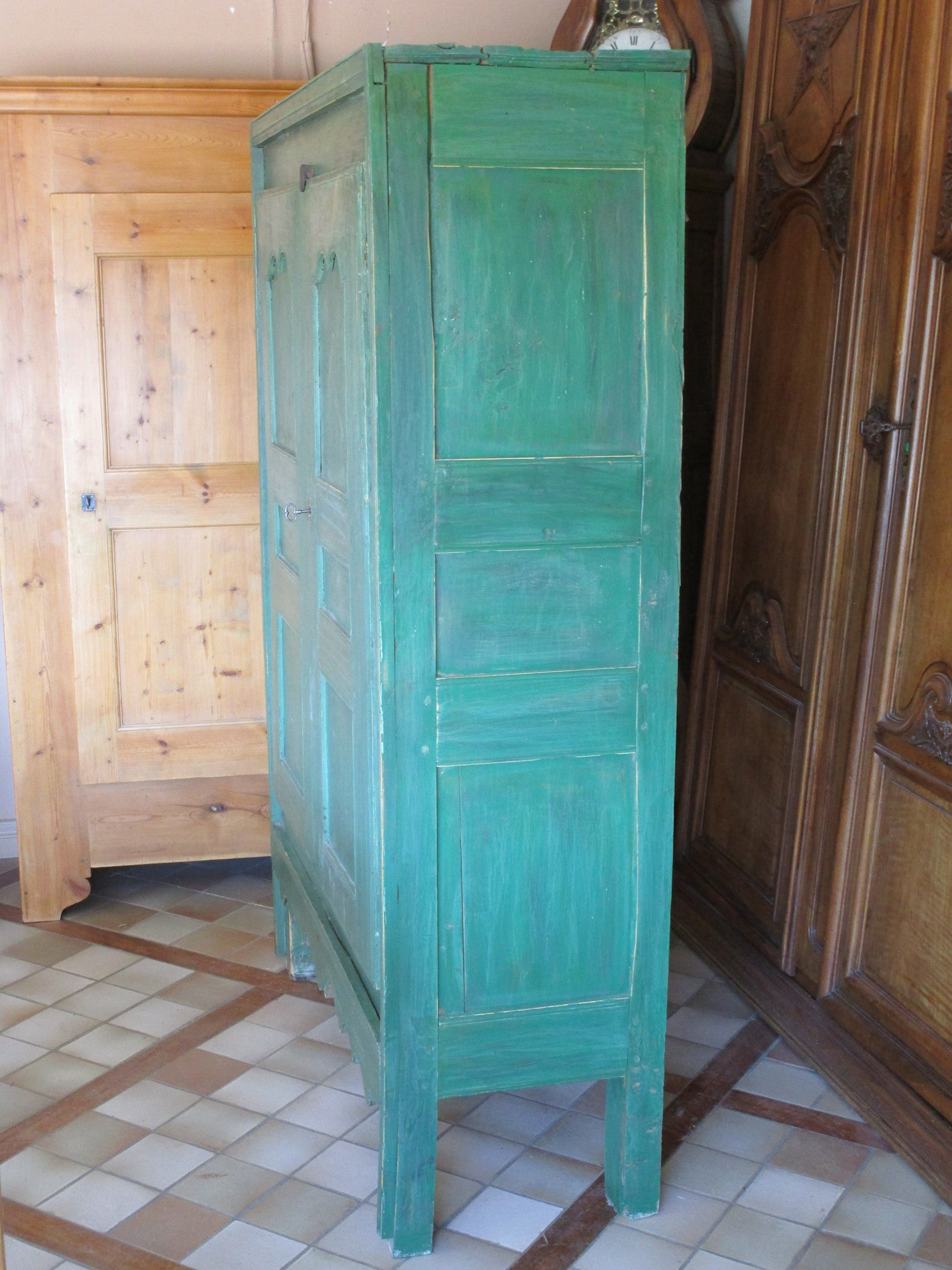 19th century armoire from the Hautes-Alpes