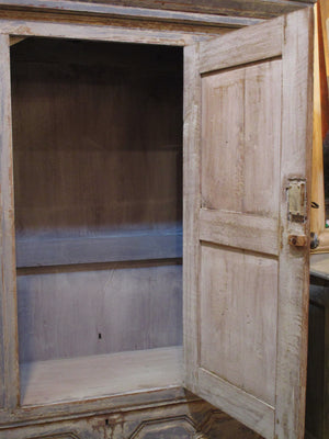 Early 18th century french oak voyage armoire beautiful