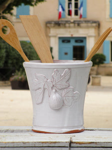 Ceramic utensil pot