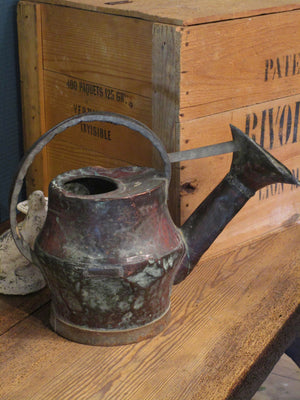 rustic french copper watering can modern farmhouse